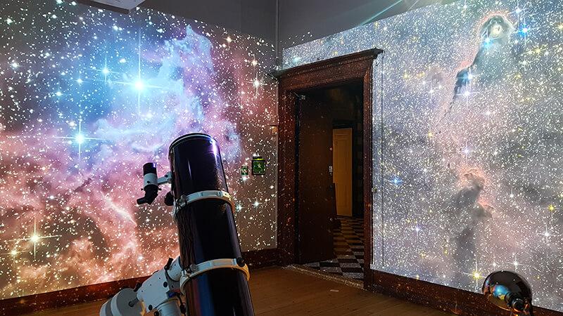 Space night